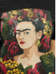 Merchcode T-Shirt Frida Kahlo Portrait noir