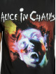 Merchcode T-Shirt Alice In Chains Facelift schwarz