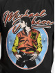Merchcode T-Shirt Michael Jackson Circle schwarz