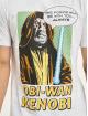Merchcode T-Shirt Obi Wan Kanobi weiß
