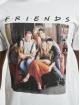 Merchcode T-Shirt Friends Group Photo weiß