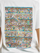 Merchcode T-Shirt Where Is Wally Corridors Of Time white