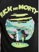 Merchcode t-shirt Rick And Morty Logo zwart