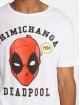 Merchcode T-skjorter Deadpool Chimichanga hvit 3