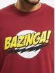 Merchcode T-skjorter Big Bang Theory Bazinga red