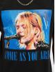 Merchcode Tričká Kurt èierna