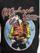 Merchcode Tričká Michael Jackson Circle èierna