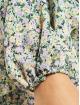 Missguided Šaty V Neck Smock Ditsy barvitý