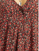 Missguided Платья Button Thru Smock Floral красный