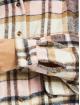 Missguided Платья Oversized Shirt Brushed Check лаванда