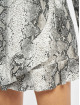 Missguided Combinaison & Combishort Snake Print Frill Detail Play noir