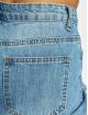 Missguided Dámske džínsy Riot High Rise Open Knee High Waist modrá