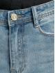 Missguided Højtaljede bukser Authentic Rip Wash Skinny blå