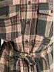 Missguided Haalarit ja jumpsuitit Brushed Flannel LS Check roosa