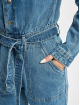 Missguided Haalarit ja jumpsuitit Boiler Button Through Denim sininen