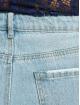 Missguided High Waisted Jeans Wrath Straight Leg High Waist modrá
