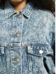 Missguided Jean Bundy 80s Batwing Oversized modrá