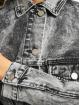 Missguided Jean Jakker 80s Batwing Oversized grå