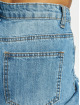 Missguided Jeans della Mamma Riot High Rise Open Knee High Waist blu