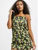Missguided jurk Tie Strap Lemon Cami zwart