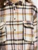 Missguided Klær Oversized Shirt Brushed Check lyserosa