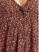Missguided Klänning Button Thru Smock Floral röd