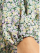 Missguided Kleid V Neck Smock Ditsy bunt