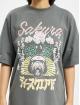 Missguided Kleid Oversized T-Shirt SS Sakura grau