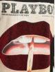 Missguided Kleid Playboy Diamante Lips T-Shirt schwarz
