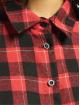 Missguided Koszule Oversized Brushed Check czerwony