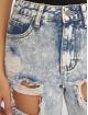Missguided Mom Jeans Bleach Riot High Rise Ripped blau 3