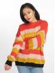 Missguided Pullover Colourblock Stripe rot 2