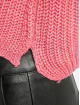 Missguided Pulóvre Petite Core Roll Neck Crop pink