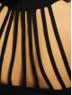 Missguided Robe High Neck Back Neck Detail noir