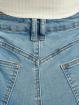 Missguided Skinny Jeans Assets Side Seam Detail Sinner modrý