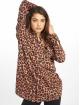 Missguided Sukienki Oversized Jersey brazowy 0