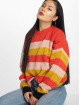 Missguided Swetry Colourblock Stripe czerwony 0