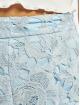 Missguided Szorty Co-Ord Crochet Lace niebieski