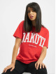 Missguided T-shirt Dakota Graphic Short Sleeve röd