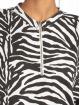 Missguided t-shirt Oversized LL Zip Front zwart 3