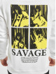 Mister Tee Hoodie Savage Emb white