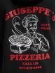 Mister Tee Sudadera Giuseppe's Pizzeria negro