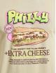 Mister Tee T-paidat Philly Sandwich khakiruskea