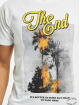 Mister Tee T-Shirt The End blanc