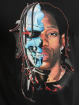 Mister Tee T-shirt Half Face nero