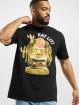 Mister Tee T-shirt Eat Lit Oversize nero