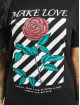 Mister Tee T-Shirt Make Love schwarz