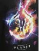 Mister Tee t-shirt Electric Planet Oversize zwart