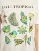 Mister Tee T-shirts Ladies Bali Tropical rosa