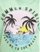 Mister Tee Tričká Ladies Summer Spirit zelená